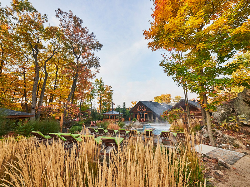 Awaking your Five Senses at the Spa in fall