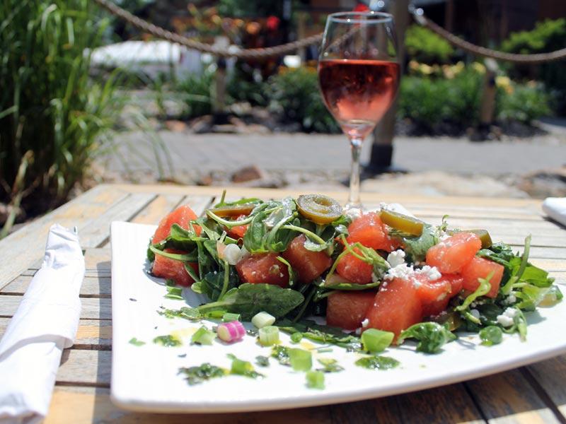 Salade fraîcheur et chaleur!