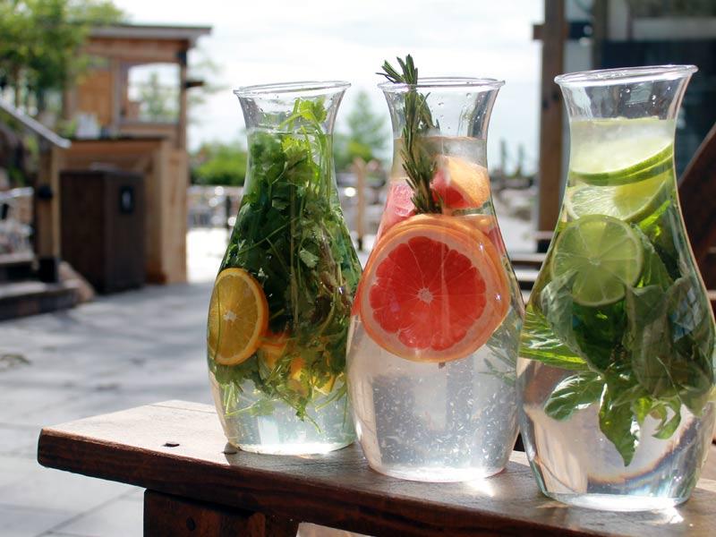 Top 3 des recettes d'eau infusée