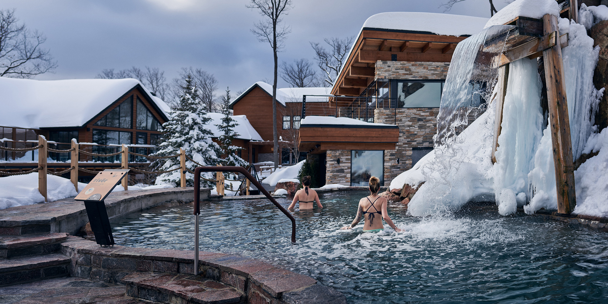 Image result for nordik spa winter