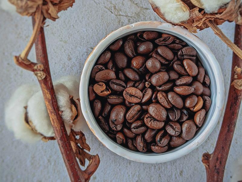 exfoliate coffee