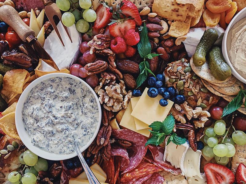 chelsea plateau de fromages et charcuteries